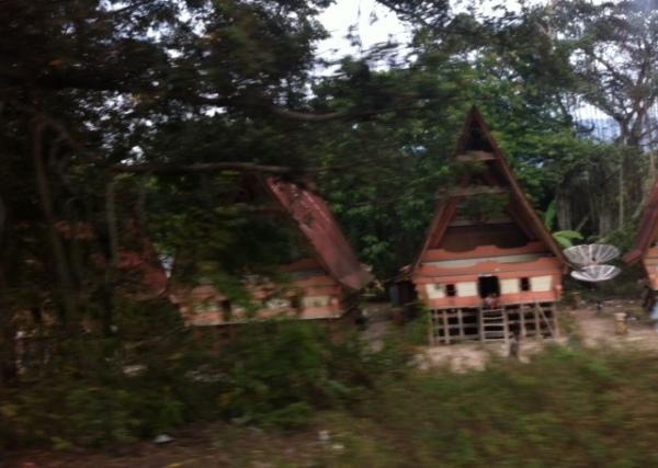 Rumah penduduk.